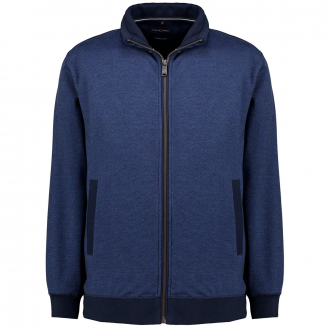 Strickjacke aus Premium Baumwolle jeansblau_116   3XL