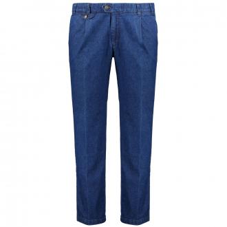 """Bundfalten-Jeans """"Fred"""" blau_22   58"""