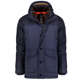 Wetterfeste Jacke mit BIONIC-FINISH® marine_5882 | 3XL