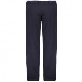"""Hochwertige, elastische Stoffhose """"Jim"""" aus Pima-Cotton blau_22   60"""