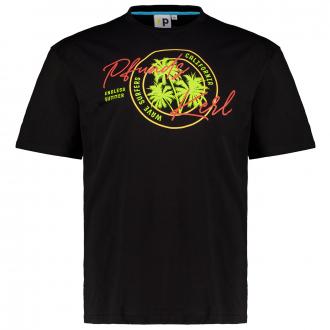 "T-Shirt mit ""Endless Summer""-Print schwarz_700 | 3XL"