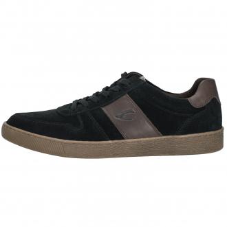 Lässiger Sneaker aus Verloursleder schwarz_05/10 | 43