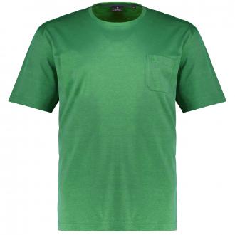 T-Shirt mit edler Micro-Pimabaumwolle grün_371 | 3XL