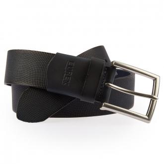 Comfort-Gürtel mit Struktur blau_22 | 125
