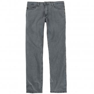 Stylische Five-Pocket-Hose mit Ziernähten graublau_81   40