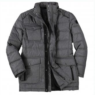 Modische Jacke mit vielen Taschen grau_711 | 3XL