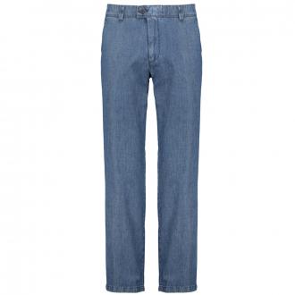 Leichte Chino-Jeans blau_25 | 60