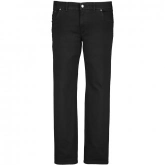 Stretch-Jeans im Five-Pocket-Style schwarz/schwarz_02   29
