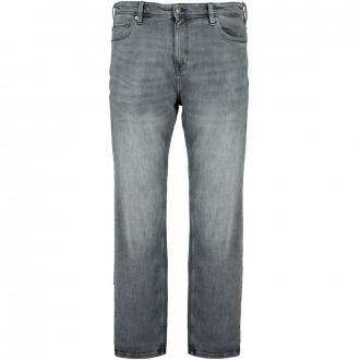 Stretch-Jeans mit Waschung grau_95Z4   42/34