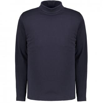 Rollkragen-Shirt im komfortablen Futureflex-Style dunkelblau_3000 | 3XL