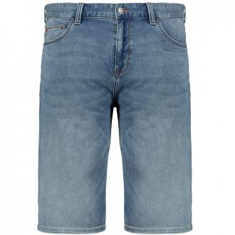 Leichte Jeansbermuda mit Stretchanteil blau_56Z4 | W48
