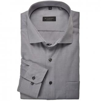 Bügelfreies Cityhemd langarm grau_32 | 46
