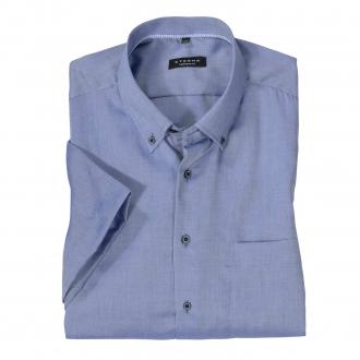 Elegantes Cityhemd mit Brusttasche, kurzarm blau_15 | 45