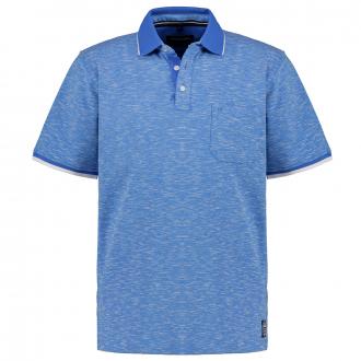 "Stretch-Poloshirt ""Easycare"", kurzarm mittelblau_102/41 | 3XL"