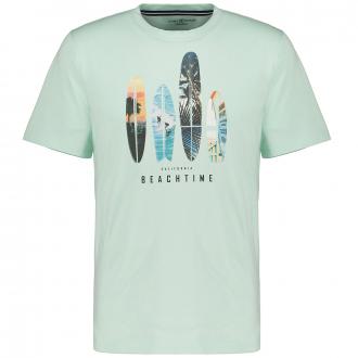 "T-Shirt ""Beachtime"", kurzarm mint_363 | 3XL"