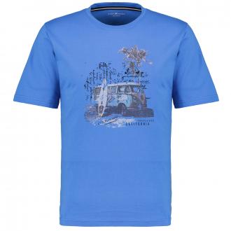 "T-Shirt ""Travelers California"" mittelblau_102/41 | 3XL"