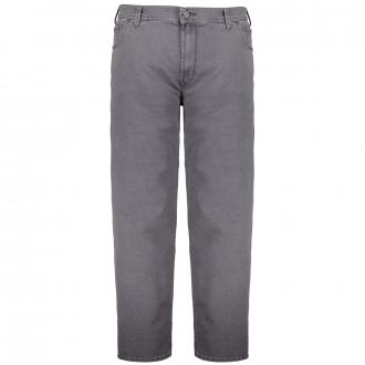 Megaflex-Jeans im 5-Pocket Style grau_12 | 31