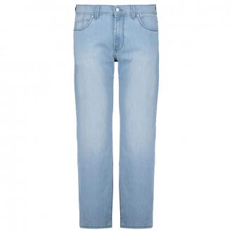 Jeans in Megaflex-Qualität mit leichter Waschung hellblau_18   62
