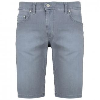 Bequeme 5-Pocket Short mit Stretch jeansblau_06 | 29