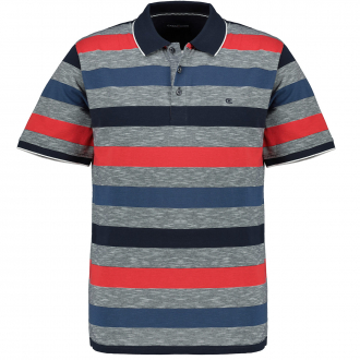 Poloshirt kurzarm blau/grau_766/3010   3XL