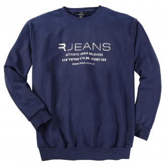 """Sweatshirt mit """"R-Jeans""""-Print blau_0580   3XL"""