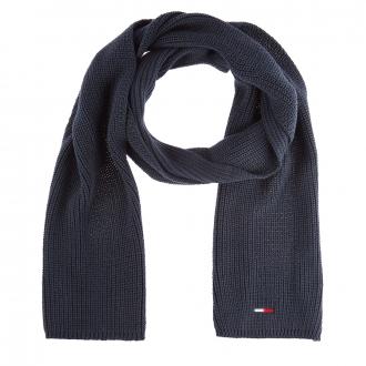 Modischer Strick-Schal dunkelblau_CBK | One Size