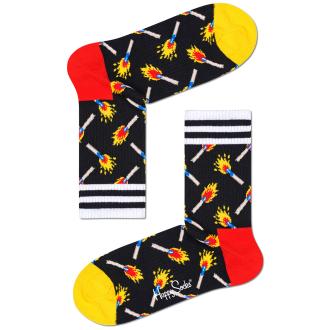 "3/4 Socke """"Matches"" schwarz_9300   41-46"