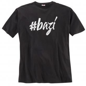 Legeres T-Shirt #bazi schwarz_15 | 4XL
