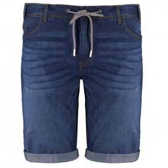 Bequeme Jeansshort aus Denim-Stretch dunkelblau_4482 | W44