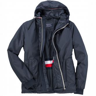 Leichte Jacke mit Kapuze dunkelblau_403   3XL
