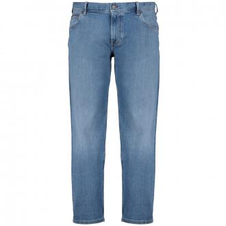 Stretch-Jeans mit leichter Waschung blau_1A6 | 50/30