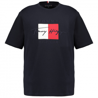 """T-Shirt mit großem """"Tommy Hilfiger""""-Aufnäher marine_DW5   3XL"""