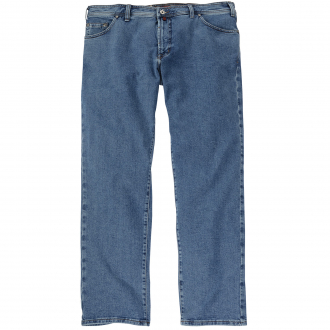 Five-Pocket Jeans mit Tiefbund blau_1 | 58