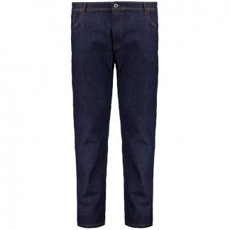 5-Pocket Jeans in Dark-Denim mit Stretch blau_42 | 52/30