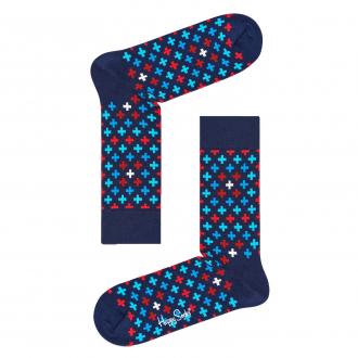 "Socke ""Plus"" mit Allover-Print blau_6000 | 41-46"