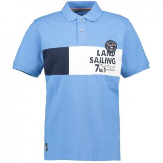 "Poloshirt ""Landsailing"", kurzarm blau_780   3XL"