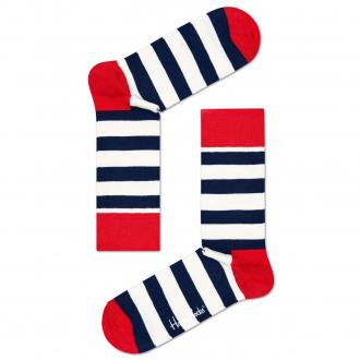Socke Stripe blau/weiß_045   41-46