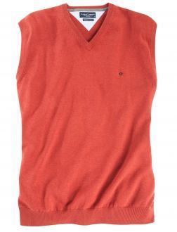 Pullunder aus Baumwolle orange_478 | 4XL