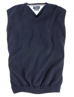 Pullunder aus Baumwolle dunkelblau_135 | 3XL