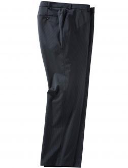 Anzughose mit Nadelstreifen blau_10 | 35