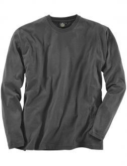 Basic Langarm-Shirt schwarz_77 | 3XL