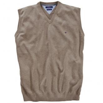 Pullunder aus Baumwolle sand_616 | 3XL