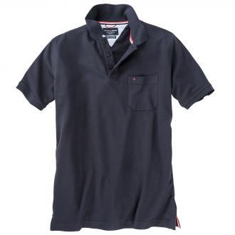 Klassisches Piqué Poloshirt marine_105 | 3XL