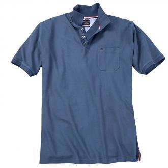 Klassisches Piqué Poloshirt dunkelblau_1250 | 3XL