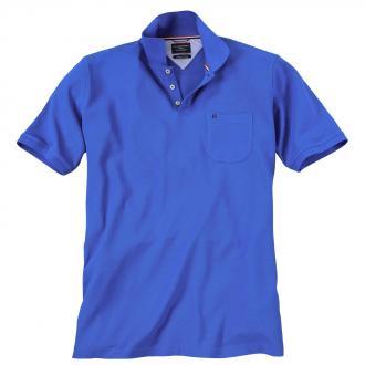 Klassisches Piqué Poloshirt mittelblau_148 | 3XL