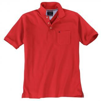 Klassisches Piqué Poloshirt rot_421 | 3XL
