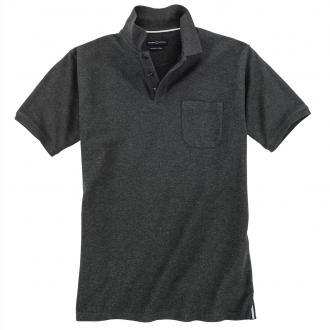 Klassisches Poloshirt,  kurzarm anthrazit_782 | 3XL
