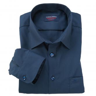 Bügelfreies Business-Hemd dunkelblau_109 | XXL