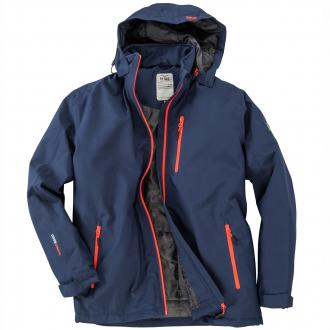 Praktisch, sportive Jacke dunkelblau_218 | 3XL