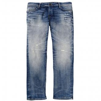 Lässige Jeans in moderner Used-Optik jeansblau_BLUEDENIM | 42/32